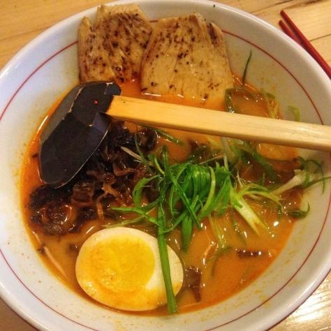 spicy shio chicken ramen ya